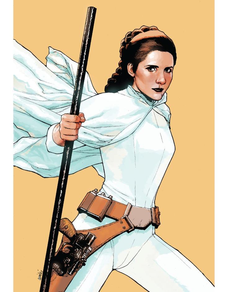 Princess Leia by leinil francis yu