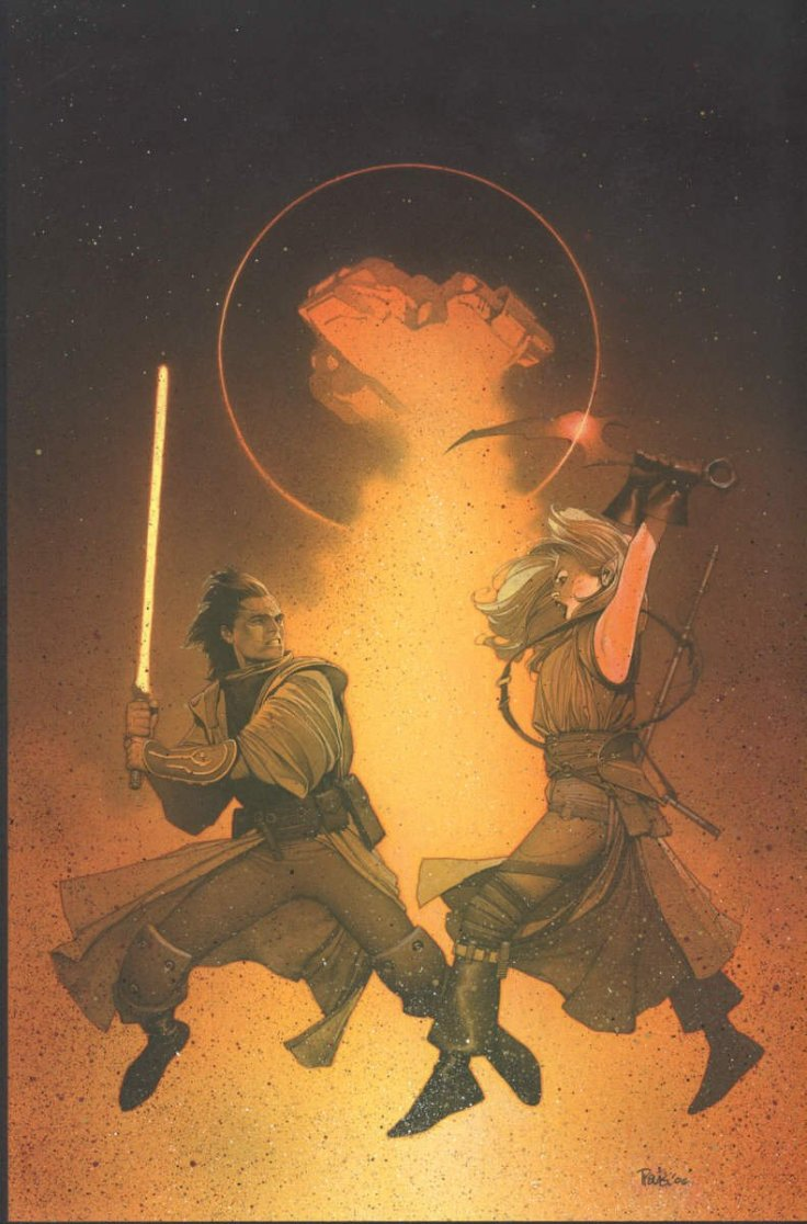 Star War #6 cover by Travis Charest