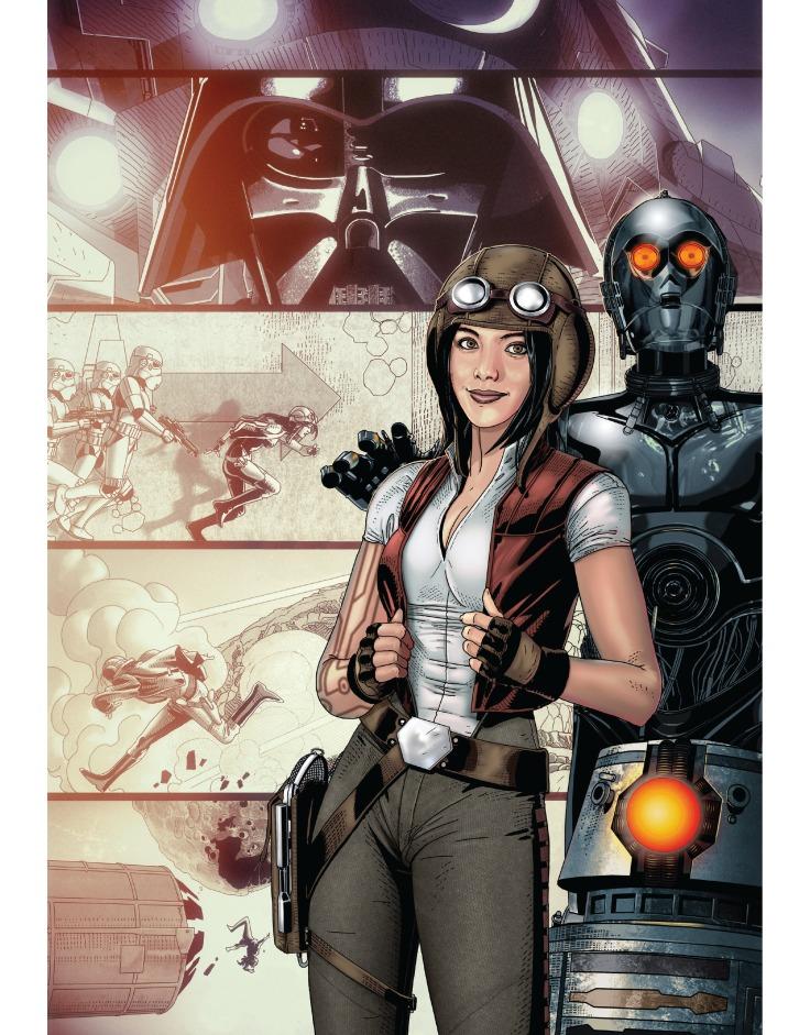 Star Wars - Salvador larroca et Ángel unzueta