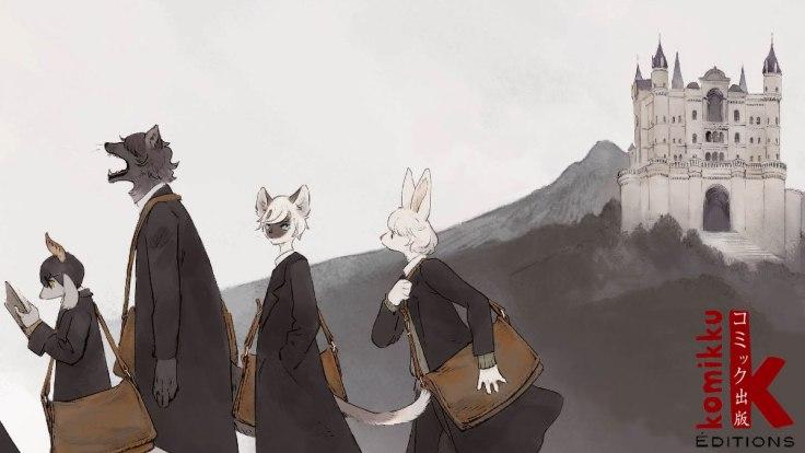 the wize wize beasts of the wizarding wizdoms_komikku