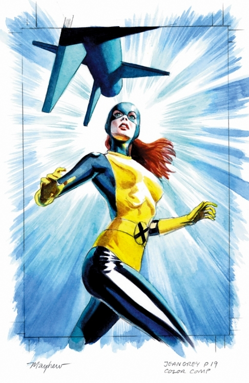 Jean Grey mike mayhewMayhew