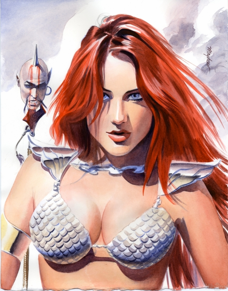 Mike Mayhew red sonja