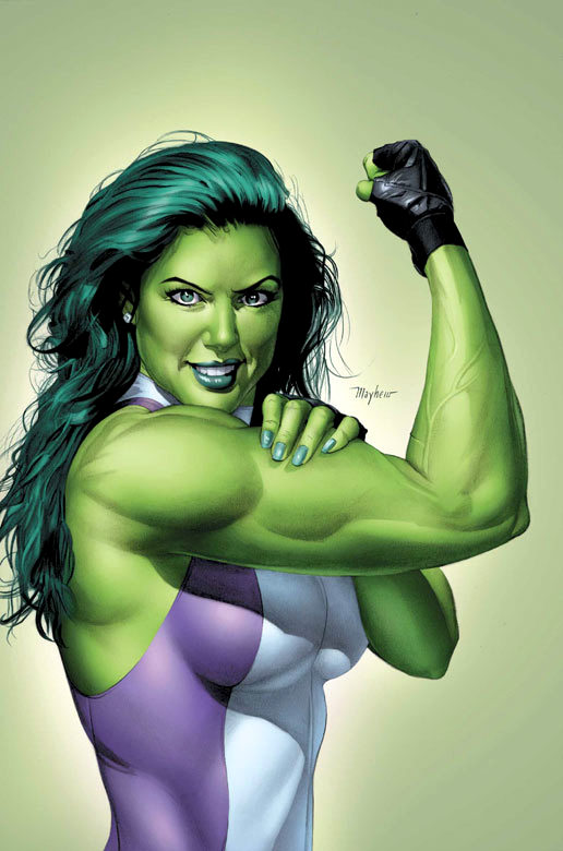 she-hulk by mike mayhew