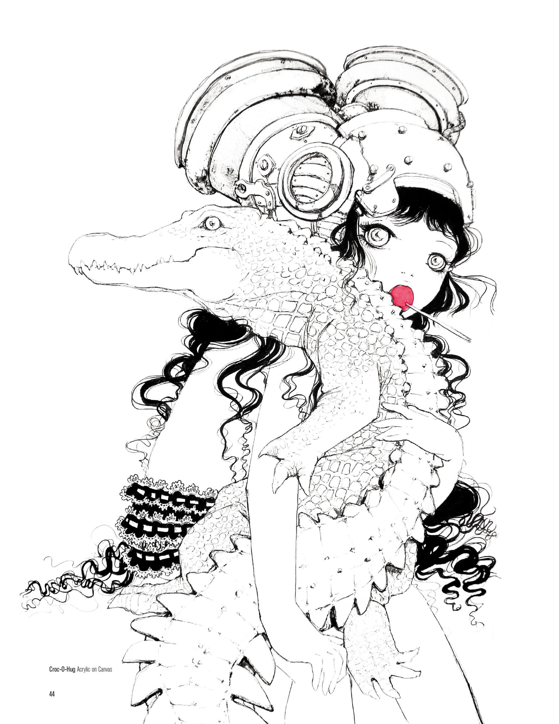 Helmetgirls - The Art of Camilla d'Errico-041