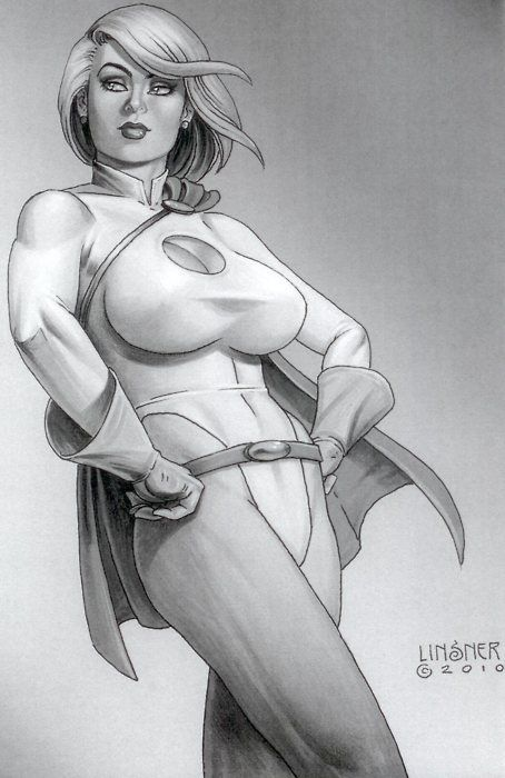 power girl linsner