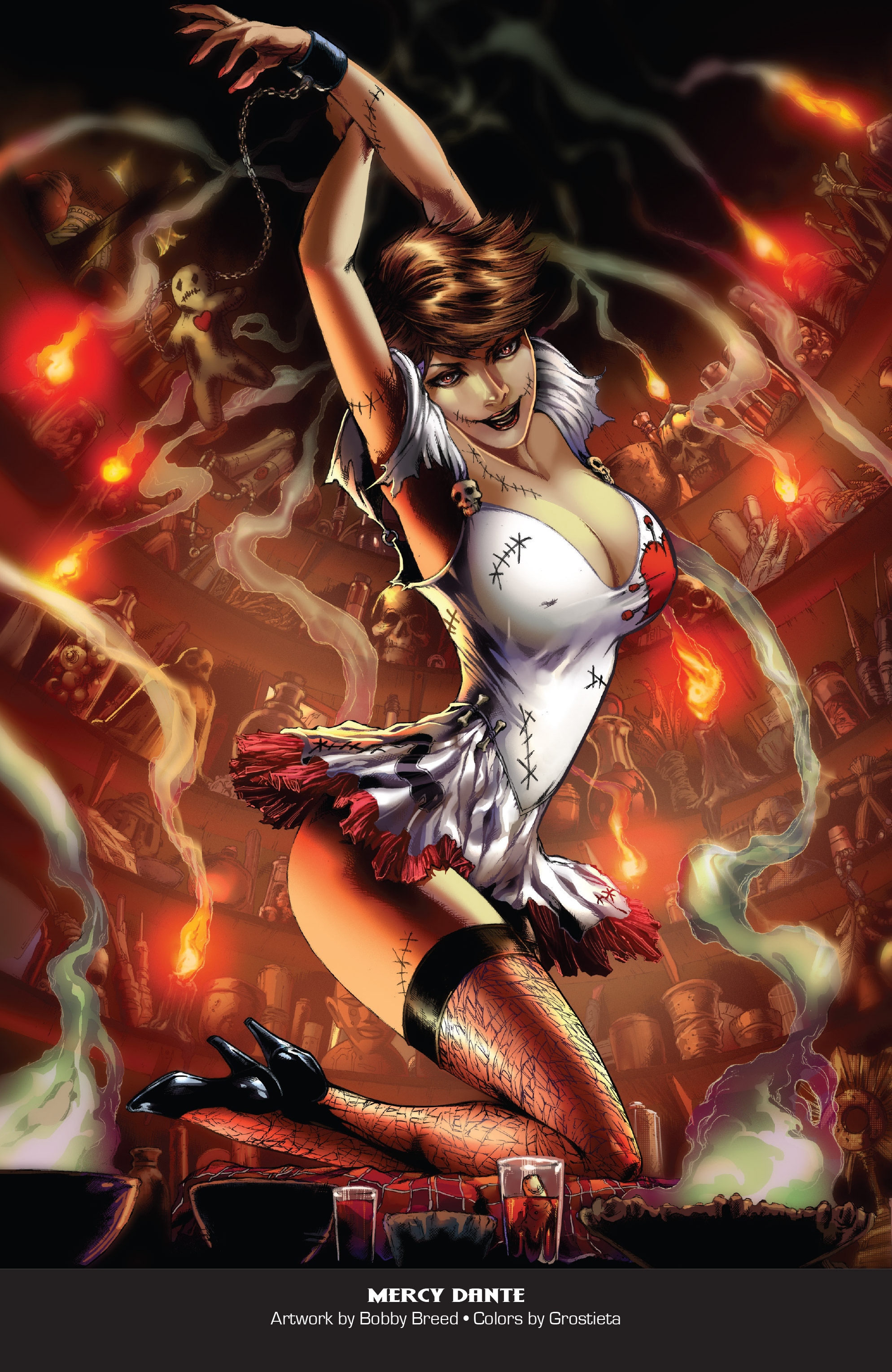 Grimm Fairy Tales 2019 Horror Pinup Special-021