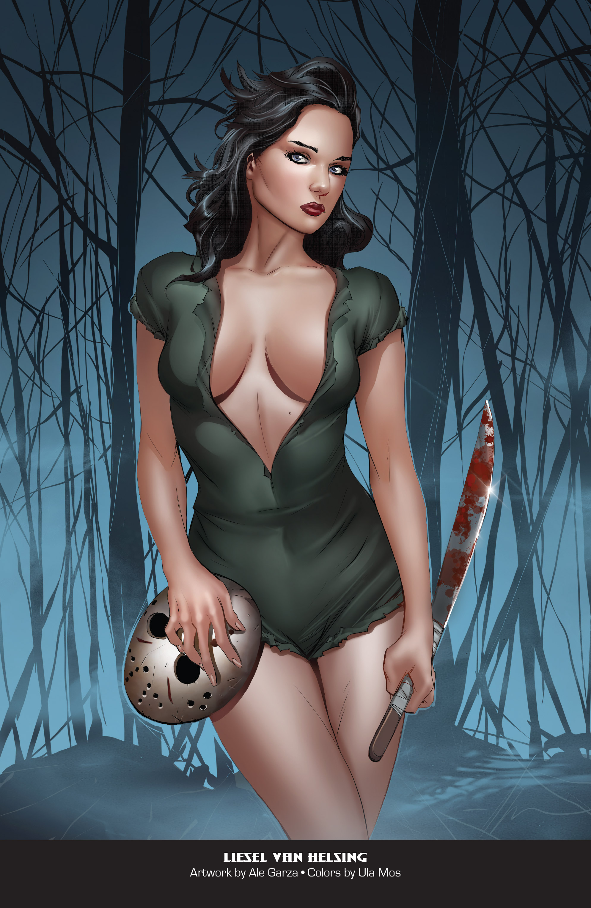 Grimm Fairy Tales 2019 Horror Pinup Special-024