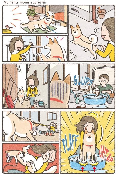 mon shiba ce drole de chien_doki doki_scan