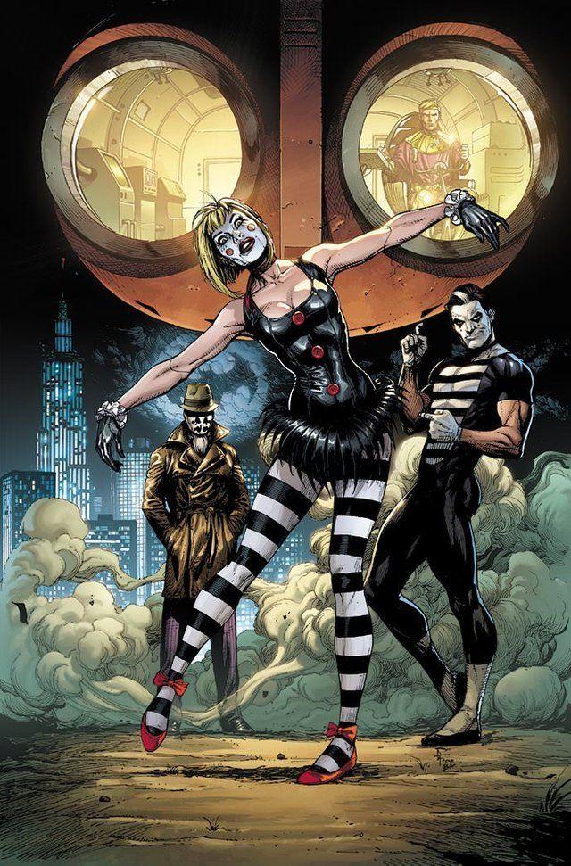 doomsday clock marionette et mime