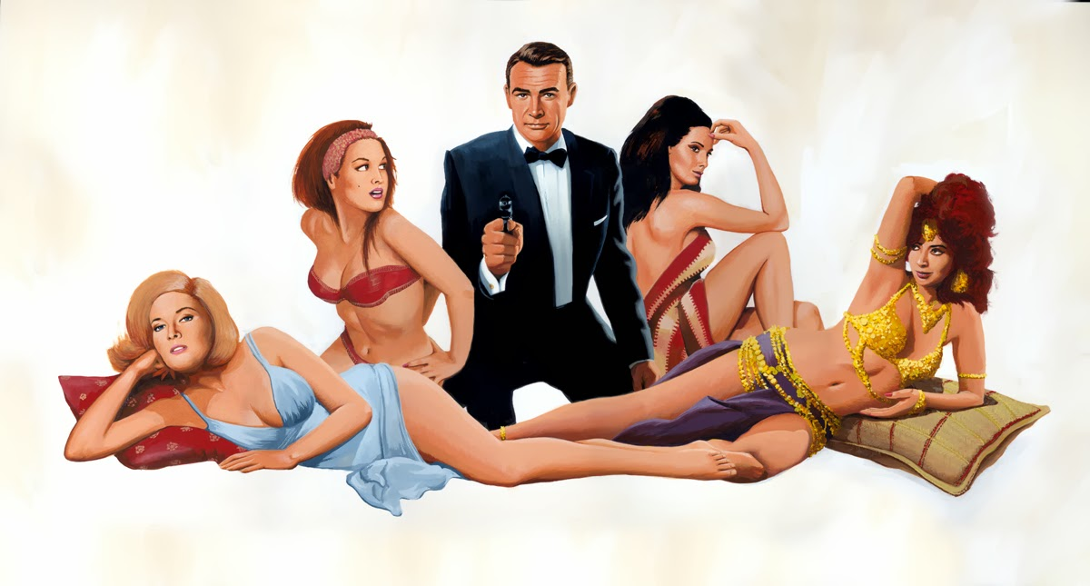 from russia with love hommage robert mcginnis peter lorenz james bond 007 artwork