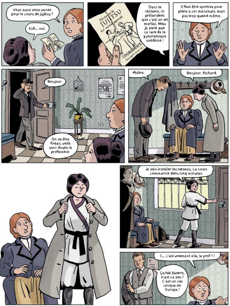 Jujitsuffragettes_les amazones de Londres_Coup de tete Delcourt_p07