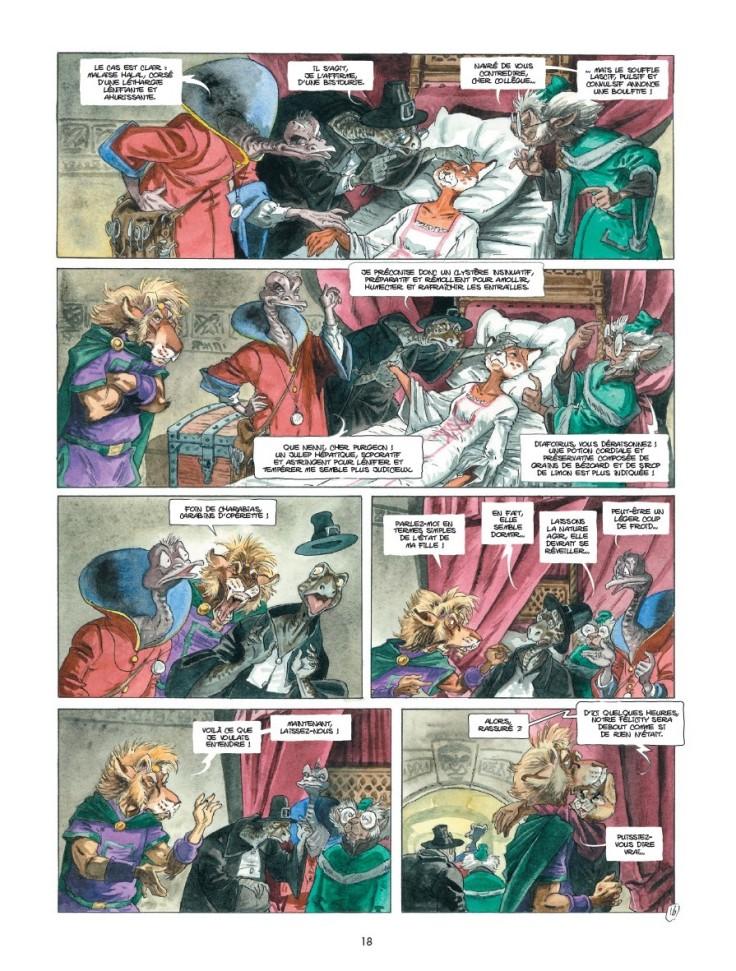 vagabondage en contrees legendaires_Tracnar et Faribol_Benois du Peloux_editions Bamboo_scan 1