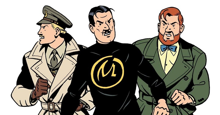 Blake & Mortimer et Olrik