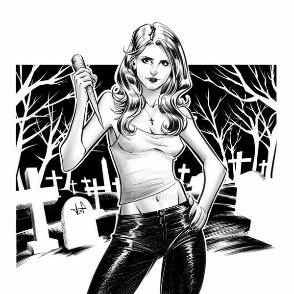 buffy_by_livia pastore