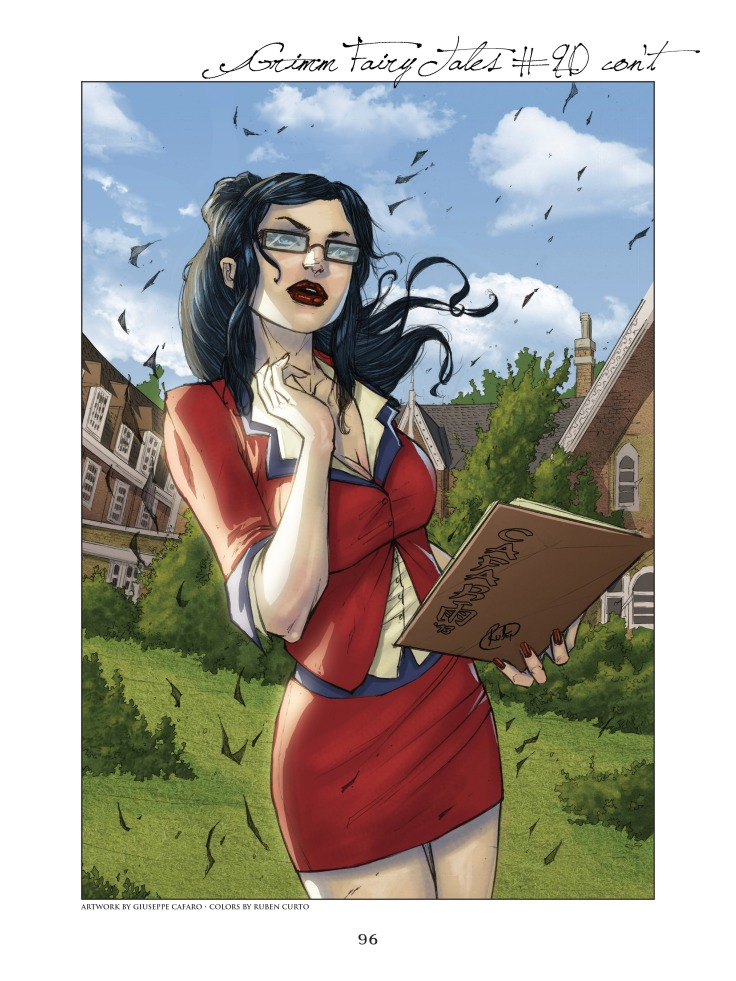 Grimm Fairy Tales Cover Art Book v02-096