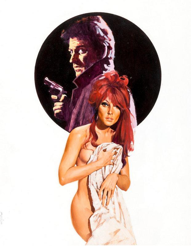 Crime Paperback Cover Illustration