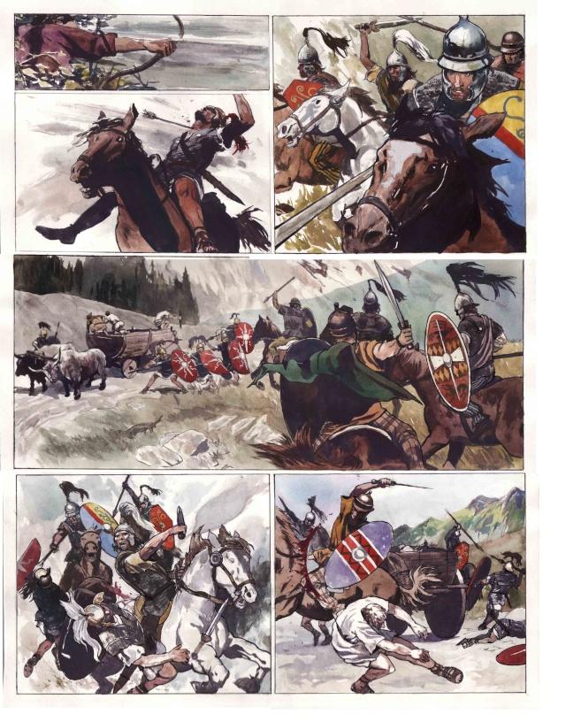 La guerre des gaules_caius julius caesar - vercingetorix_tartamudo_scan 1
