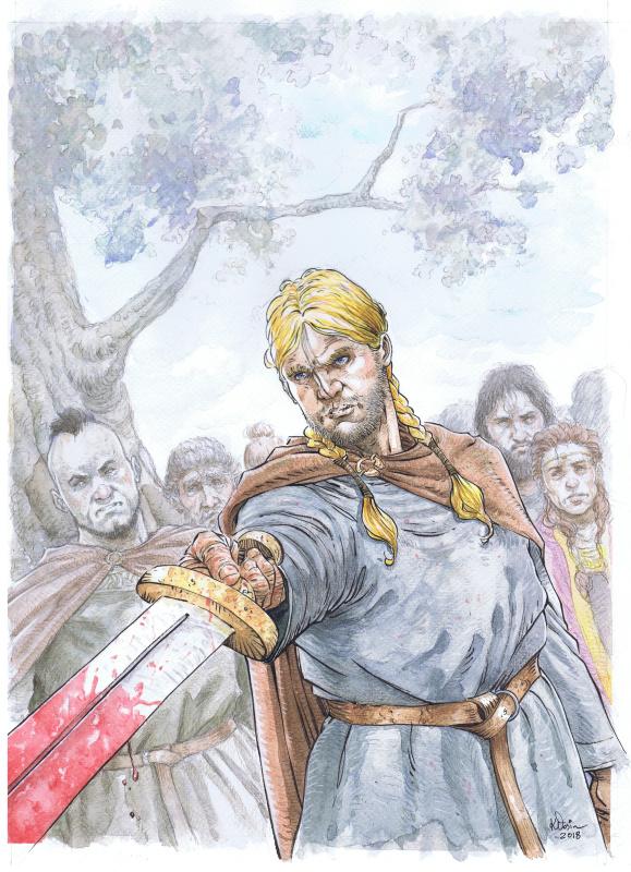 Jylland_Magnulv-le-Bon_Bruno de Roober_Przemyslaw Klosin_Anspach_illustration