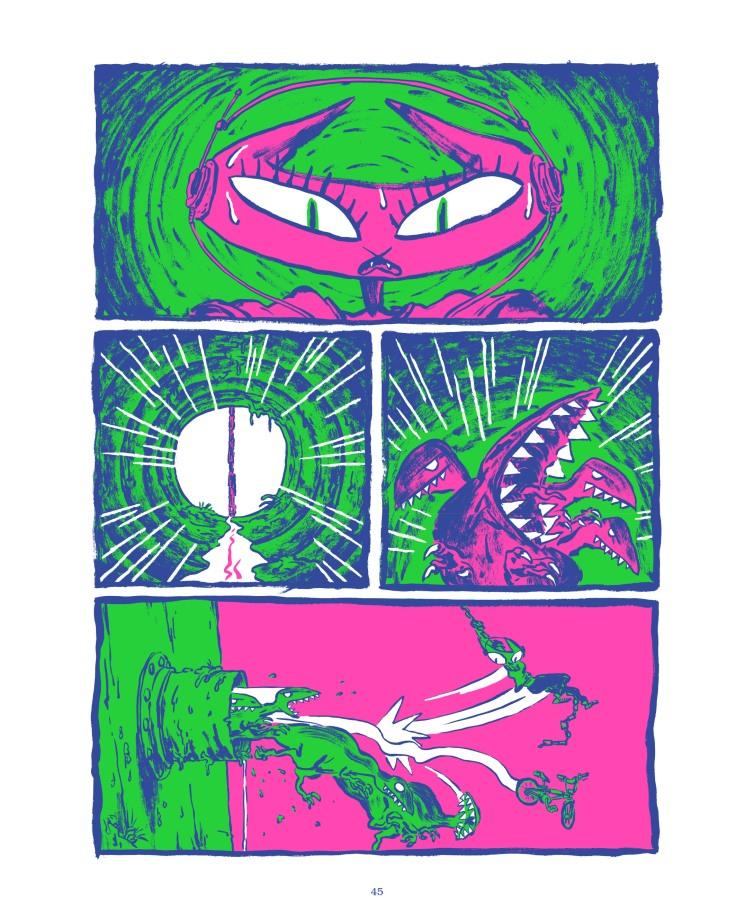 Les dinosaures de l apocalypse_les aventuriers de l etrange_extrait2