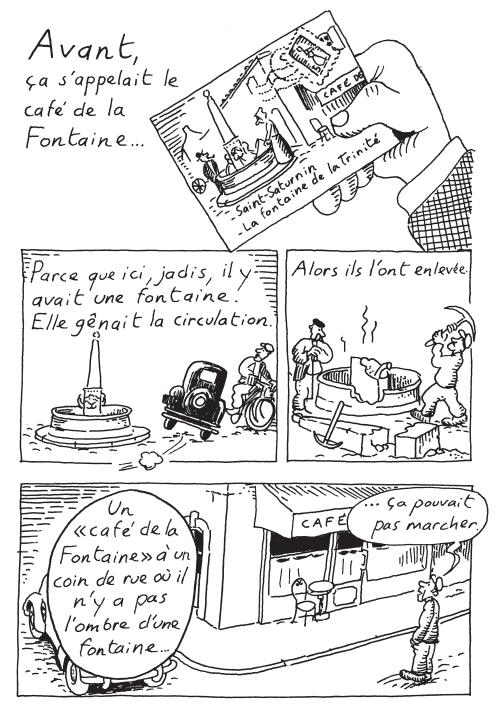 Les dessous de Saint-Saturnin_Le bistrot d emile_Bruno Heitz_gallimard bande dessinee_extrait