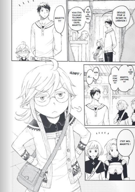 the elf and the hunter_T01_Aoi Umetaro_soleil manga_extrait1