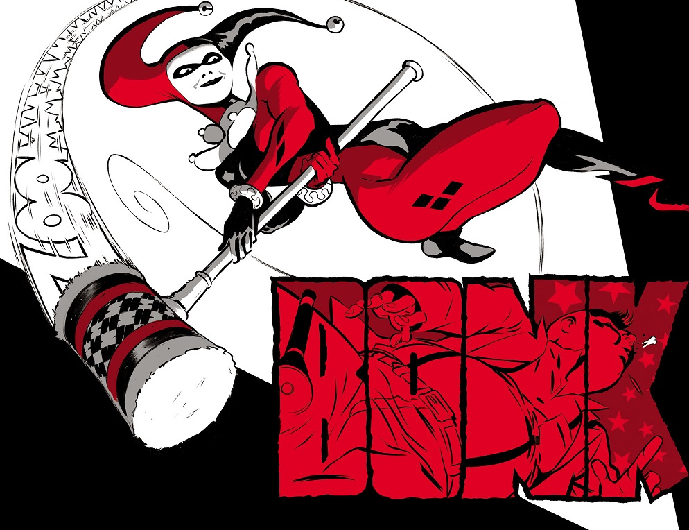 Harley Quinn Black + White + Red (2020-) 003-005
