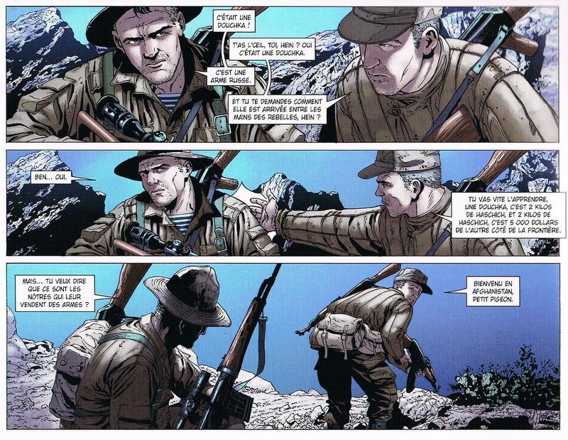 le garde du corps de Massoud-delcourt