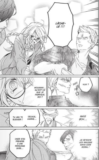 Trois Yakuzas pour une Otaku_T01_Narumi Hasegaki_Soleil manga_extrait