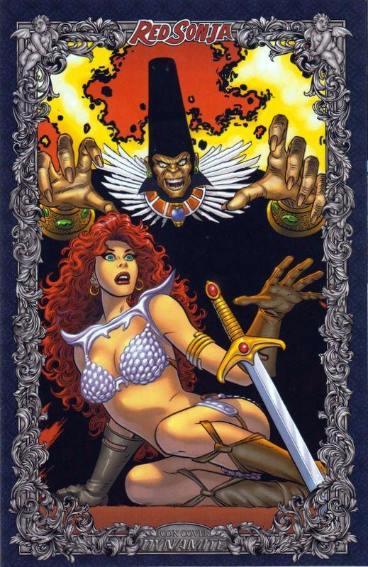 2020 Red Sonja Age of Chaos #1 John Romita
