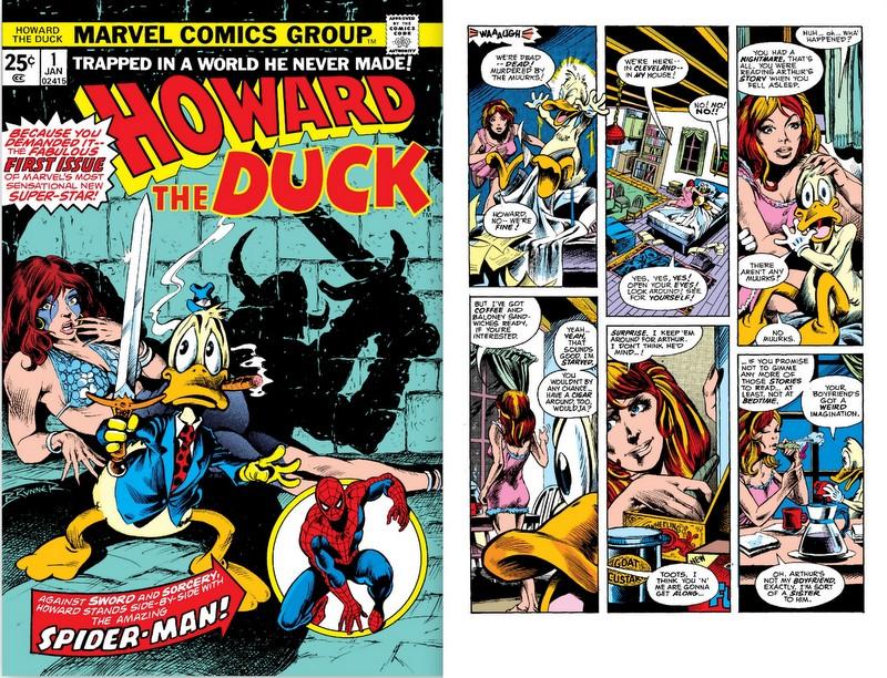 Howard the duck comics