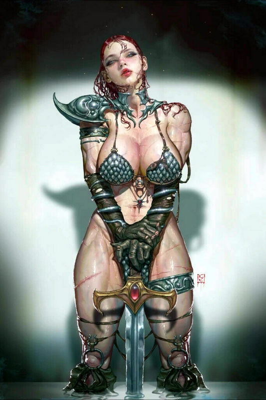INVINCIBLE RED SONJA 1 KYUYONG EOM