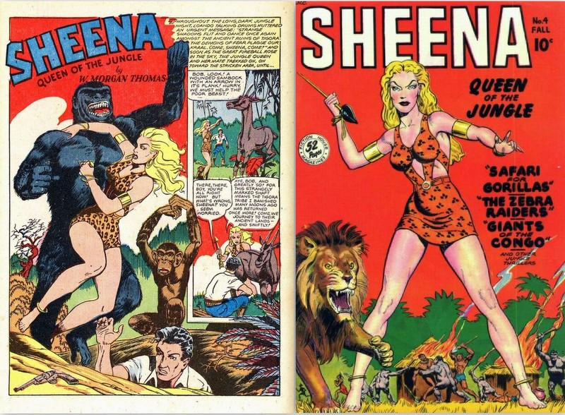 sheena comics